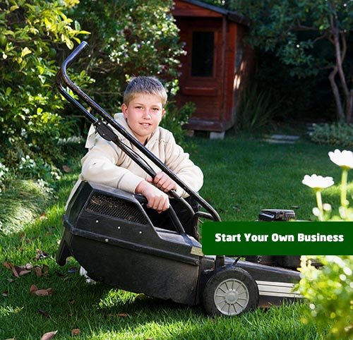 Start Mowing Business and Snow Removal